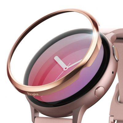 Ringke Nakładka na tachymetr do Galaxy Watch Active 2 40mm Gloss Pink RGK1069SGRS