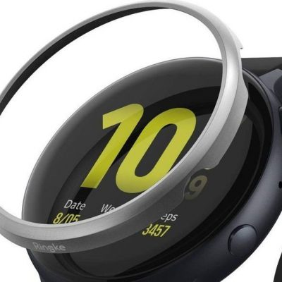 Ringke Nakładka Ringke Bezel do Galaxy Watch Active 2 40mm stal Matte Silver uniwersalny 8809688893506
