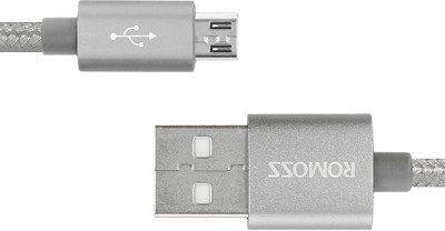 Romoss kabel micro USB (ładowanie, komunikacja) - gray / szary PB/RO-MIC-GR