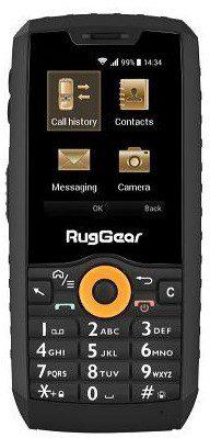 RugGear RG150 Dual Sim Czarny