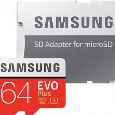 Samsung Evo Plus 64GB microSD (MB-MC64GA/EU)