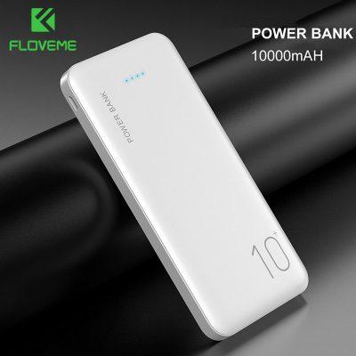 Samsung FLOVEME Power Bank 10000 mAh przenośna ładowarka do Xiaomi mi mobilna zewnętrzna bateria