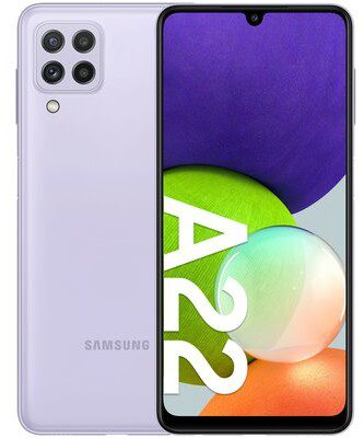 Samsung Galaxy A22 64GB Dual Sim Fioletowy