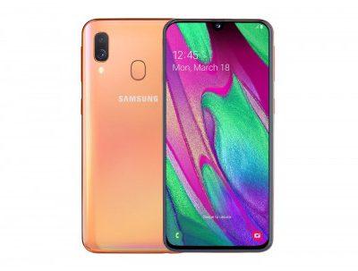 Samsung Galaxy A40 64GB Dual Sim Koralowy