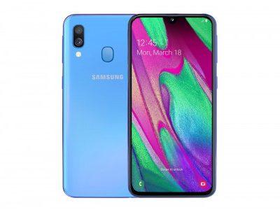 Samsung Galaxy A40 64GB Dual Sim Niebieski