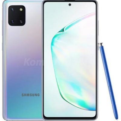 Samsung Galaxy Note 10 Lite 128GB Dual Sim Srebrny