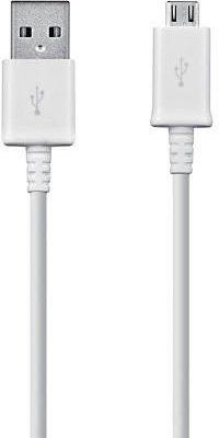 Samsung Kabel USB USB A Micro USB Biały 1m ECB-DU4AWE