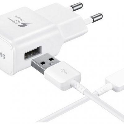 Samsung ładowarka sieciowa oryginalna EP-TA20EW 2A + ECB-DN930CW USB-C biała do ZTE Nubia Z17 mini