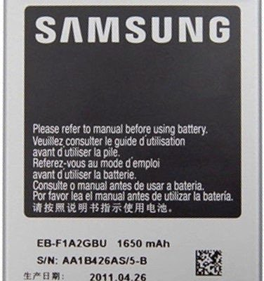 Samsung Oryginalna bateria 1650mAh Galaxy S2 EB-F1A2GBU