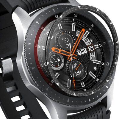 Samsung Ringke Ringke Inner Bezel Styling etui ramka koperta pierścień Galaxy Watch 46mm Gear S3 czarny RGSG0056 uniwersalny
