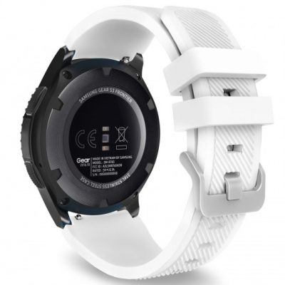 Samsung Tech-Protect PASEK TECH-PROTECT SMOOTHBAND GALAXY WATCH 46MM WHITE BRANSOLETA CASE