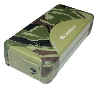 Sandberg Powerbank 5200mAh USB zielony SB420-22