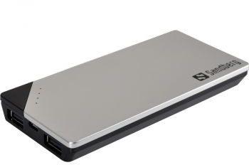 Sandberg Powerbank 6000mAh 2xUSB szary SB420-19