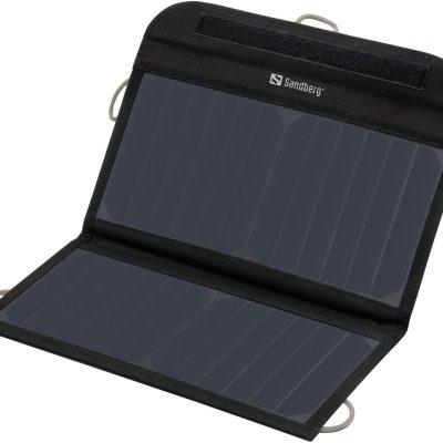 Sandberg Solar Charger 13W 2x USB ładowarka solarna czarna 420 40