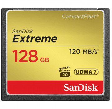 SanDisk CF Extreme UDMA7 128GB (SDCFXSB-128G-G46)