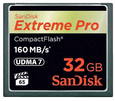 SanDisk Extreme Pro 32GB (SDCFXPS-032G-X46 / 123843)