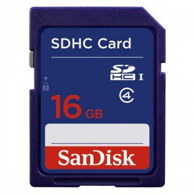 SanDisk SDHC Class 2 16GB (SDSDB-016G-B35)
