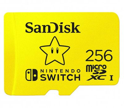 SanDisk Switch SDSQXAO-256G-GNCZN