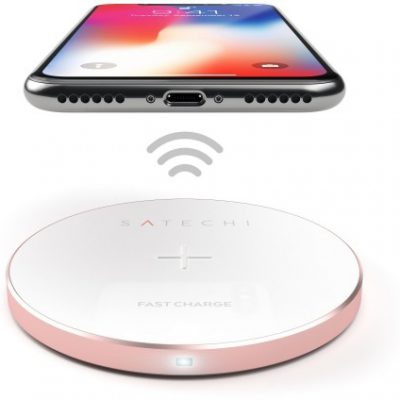 Satechi Satechi Aluminum Wireless Charger Rose Gold | iPhone X ST-WCPR