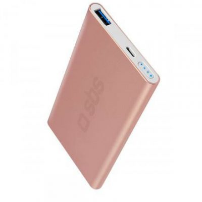 SBS 5000 mAh USB 2.1A Rose Gold