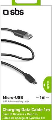 SBS Kabel USB - microUSB SBS LTHL200, 1 m