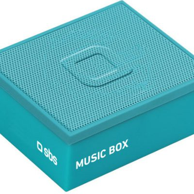 SBS Music Box turkusowy