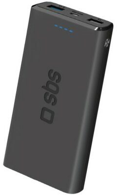 SBS Powerbank Pocket Fast Charge 10000 mAh Czarny
