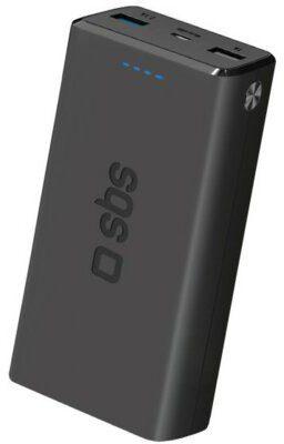 SBS Powerbank Pocket Fast Charge 20000 mAh Czarny