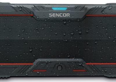 Sencor SSS1100 Czarno-czerwony
