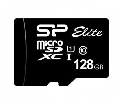 Silicon Power 128GB microSDXC Elite 85MB/s C10 UHS-I U1 (SP128GBSTXBU1V10SP)