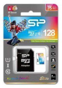 Silicon Power MicroSDXC Colorful Elite UHS-1 128GB CL10 + adapter (SP128GBSTXBU1V20SP)