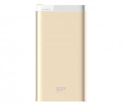 Silicon Power Power Bank 10000 mAh 2.1A USB złoty