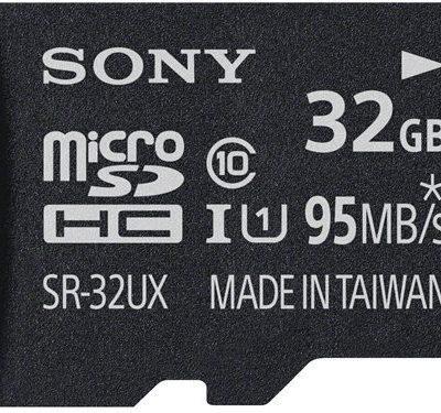 Sony MicroSDHC Class 10 32GB (SR32UXA)