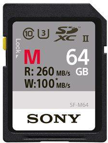 Sony SDXC II 64GB 260MB/s SF64M