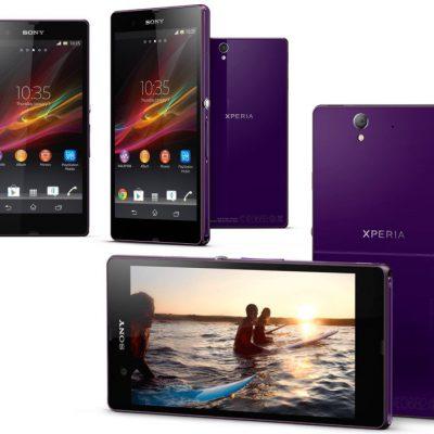 Sony Xperia Z Fioletowy
