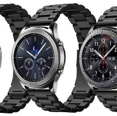 Spigen Bransoleta Modern Fit Band do Galaxy Watch 46mm Gear S3 Black 600WB24983