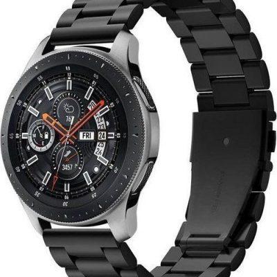Spigen Bransoleta Modern Fit Band do Galaxy Watch 46mm Gear S3 Black uniwersalny SPN966BLK
