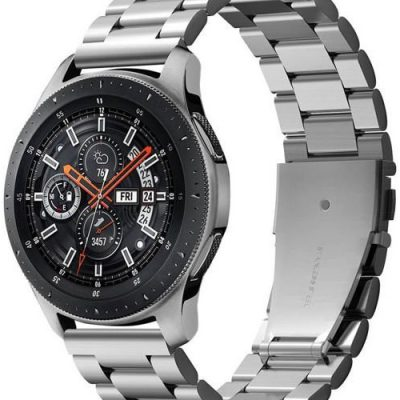 Spigen Bransoletka Modern Fit Band do Galaxy Watch 46 mm Silver 600WB24981