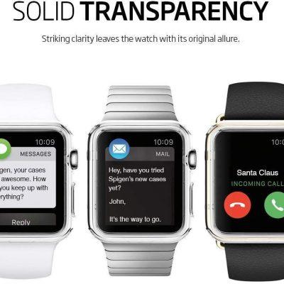 Spigen Etui Liquid Crystal Apple Watch 4 (44mm) Clear SPN221CL