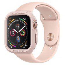 Spigen Etui Rugged Armor Apple Watch 4 - 40mm, różowe 8809613760477