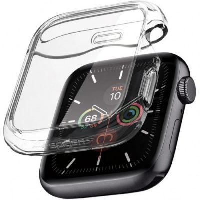 Spigen Etui Ultra Hybrid 360 Apple Watch 5/4 - 44mm, przezroczyste 8809685622932