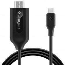 Spigen Kabel Spigen Essential C20CH, USB-C do HDMI, 2m, czarny 8809565302961