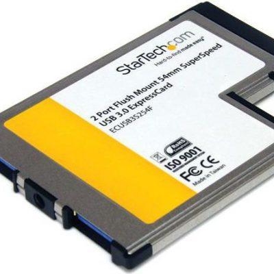 StarTech Kabel USB FLUSH MOUNT EXPRESSCARD USB 3 - ECUSB3S254F