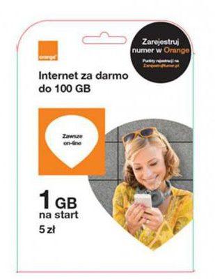 Starter Orange Free 5 zł