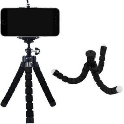Statyw uchwyt telefon aparat giętki elastyczny