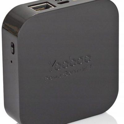 Stilgut Yoobao czarny powerbank 5200mAh do Huawei