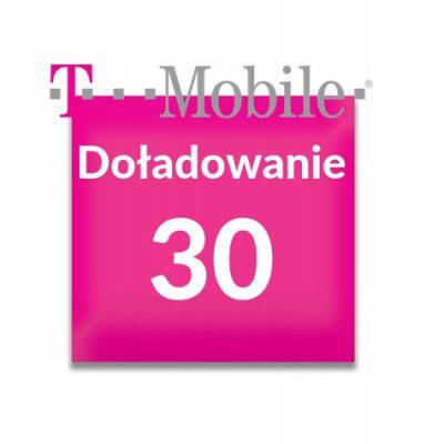 T-Mobile Doładowanie T-Mobile 30 zł