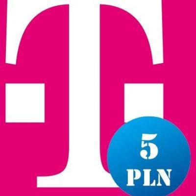 T-mobile Doładowanie T-Mobile 5 PLN