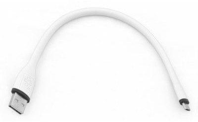 TB Kabel Micro USB 25cm Biały silikonowy AKTBXKU2SIBA25W