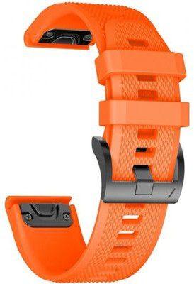 TECH-PROTECT Pasek TECH-PROTECT do Fenix 5/6/6 Pro Pomarańczowy